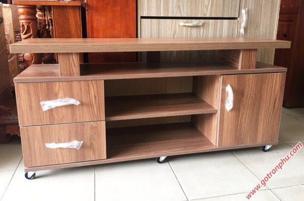 Kệ tivi gỗ Melanine 1m4 KT058 (1)