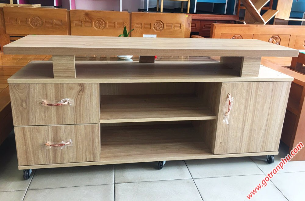 Kệ tivi gỗ Melanine 1m4 KT058 (3)
