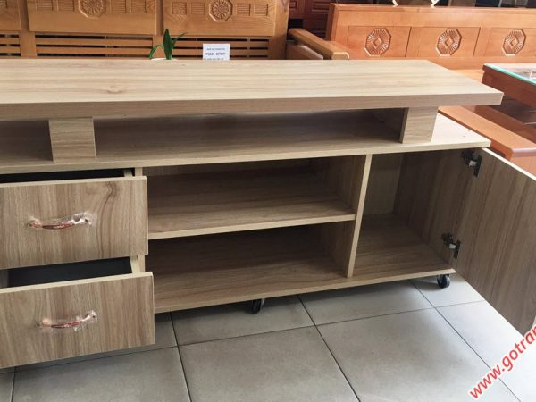 Kệ tivi gỗ Melanine 1m4 KT058 (4)