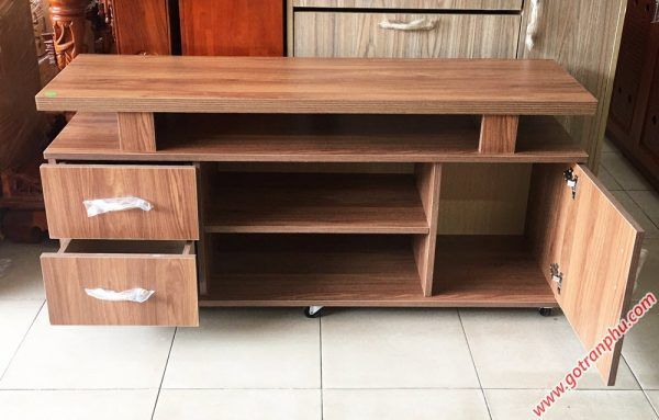 Kệ tivi gỗ Melanine 1m4 KT058 (5)