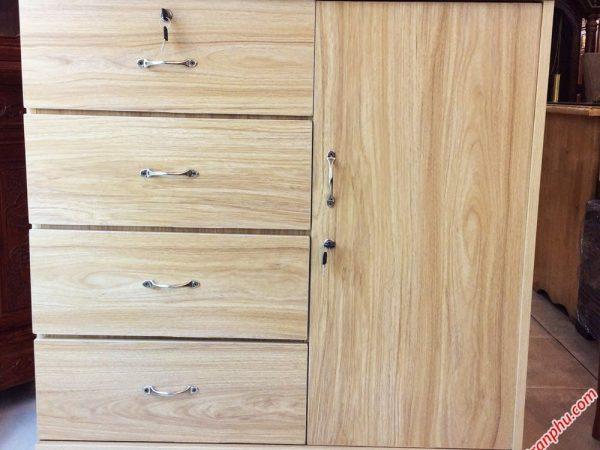 Tủ Campos gỗ MDF đựng tài liệu 1m 1m2 TU006-07 (1)