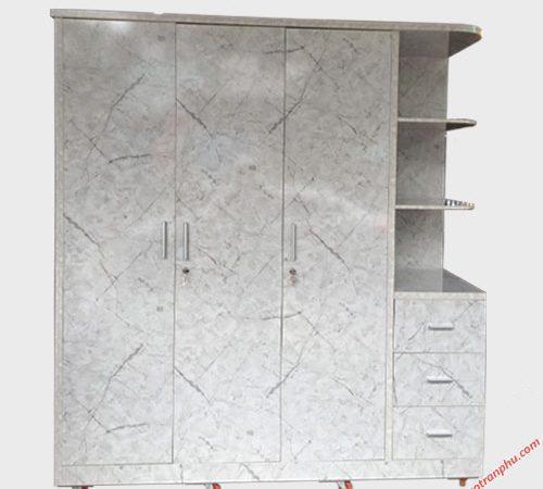 Tủ quần áo gỗ công nghiệp MDF kệ góc 1m8 TA011 (4)