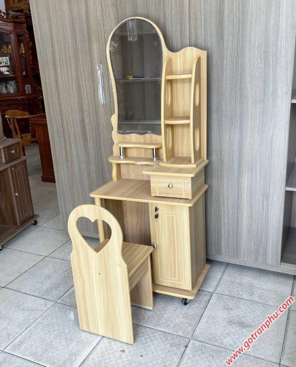 Bàn trang điểm gỗ MFC ngang 60cm BT030 (3)
