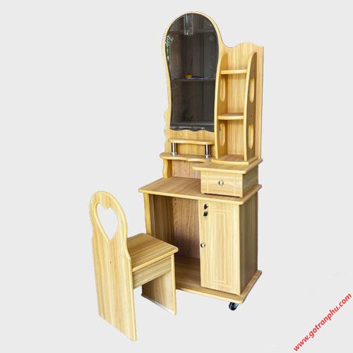 Bàn trang điểm gỗ MFC ngang 60cm BT030