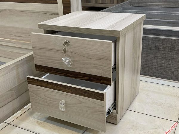 Tủ đầu giường gỗ MDF nhập khẩu TU010 (2)
