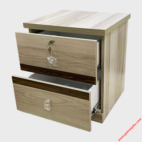 Tủ đầu giường gỗ MDF nhập khẩu TU010 (6)