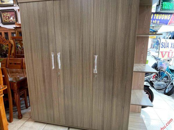 Tủ quần áo gỗ MFC có kệ góc 1m8 TA067 (2)