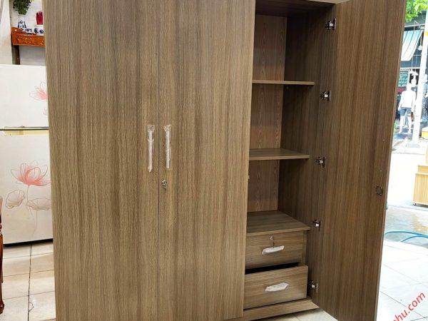 Tủ quần áo gỗ MFC có kệ góc 1m8 TA067 (4)