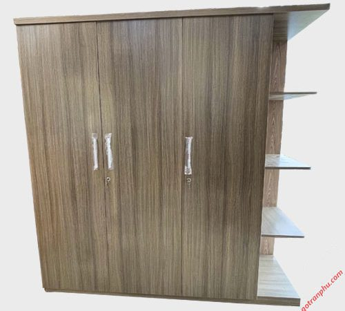 Tủ quần áo gỗ MFC có kệ góc 1m8 TA067 (5)